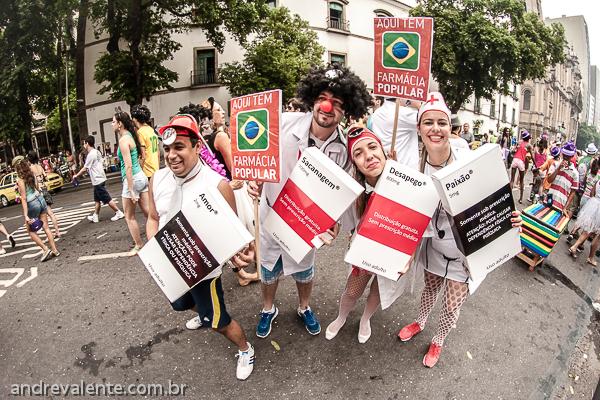 Cordão do Boitatá Carnaval 2014 Fotografias Andre Valente